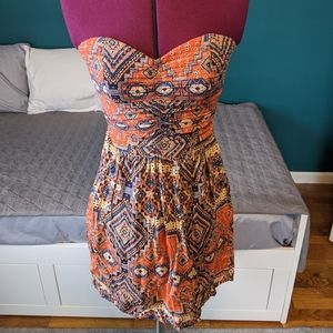 Strapless Sundress Dress